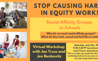 Stop Causing Harm in Equity Work: Racial Affinity Groups in Schools